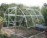 Galvanized framework for greenhouses 3kh4kh2m