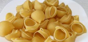 Pasta: Cockleshells. Are made from the Crimean