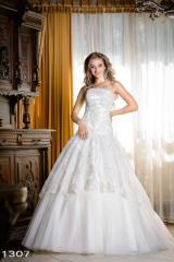 Exclusive wedding dress from design studio