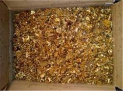 Kernels of nuts mix amber