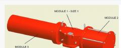 HD type pneumatic actuator, Shutoff valves,