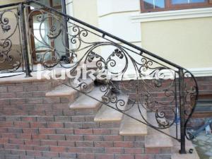 Handrail is shod
