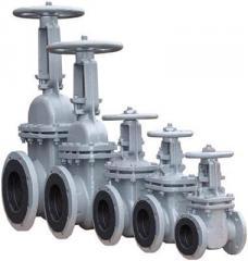 Задвижки стальные литые и штампосварные (30с41нж и др.) со склада в Донецке (доставка по Украине и СНГ)