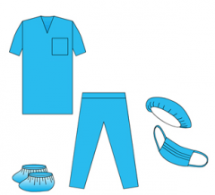 Комплект хирургический 4 и другая одежда (наборы)