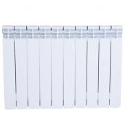 The radiator is bimetallic