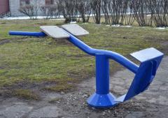 Уличные тренажеры: Гиперэкстензия КС-217