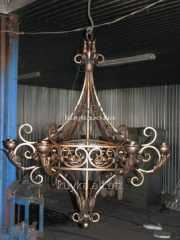 Chandeliers are shod