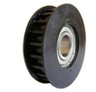 Gear plastic pulley with the Geze bearing for