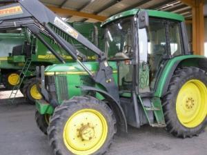 John Deere 6310 tractors