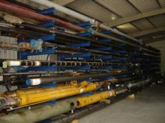 Hydraulic cylinder of promotion of section of the
