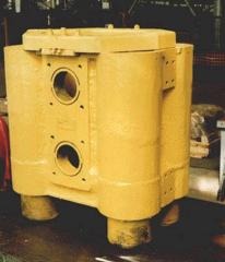 Домкрат гидравлический ДГ 650/1200 для натяжения