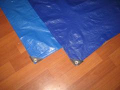 Тенты готовые (с ПВХ покрытием, люверсами