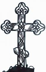 Crosses are shod