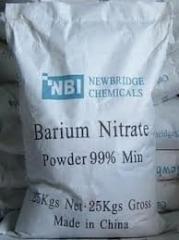 Barium nitrate, barium salts