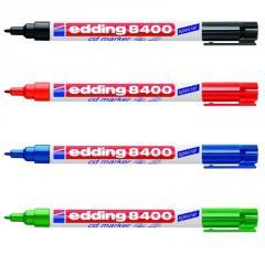 Marker for CD/DVD disks of Edding 8400 1 of mm of