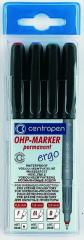 Set of permanent markers Centropen 2636/04 0,6 of