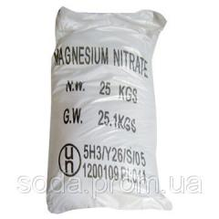 Magnesium nitrate, compounds of magnesium