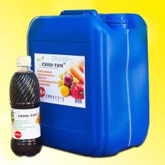 Fertilizer on the basis of a biohumus of