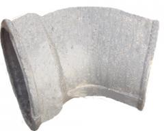 Отвод для труб чугунный ф50-150