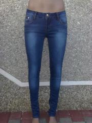 Женские джинсовые штаны новые