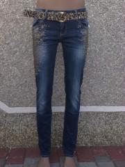 Брюки джинсовые для женщин
