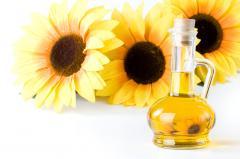 Sunflower oil not refined frozen