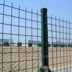 Заборы из сварной сетки Euro Fence 50*50*2,5 с ПВХ