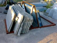 Slabs granite, production, sale