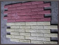 Фасадная плитка под кирпич.
