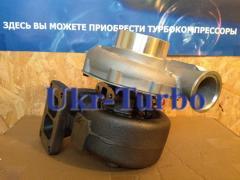 The turbine (turbocompressor) on MAN