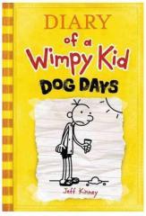 Книги для детей, Diary of a Wimpy Kid: Dog Days