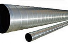 Air duct of round section