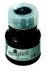 Ink on a water basis for drawing and graphic and