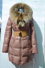 Куртка женская пуховик 13003