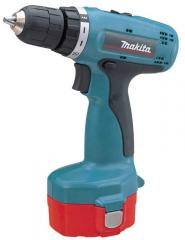The Makita screw gun is accumulator