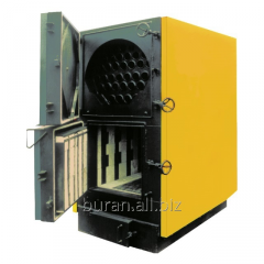 Industrial solid propellant boilers with manual