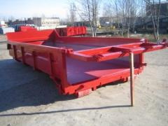 Container garbage metal of 14 m3