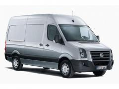 Volkswagen Crafter is armor collector