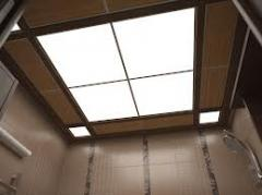 Wooden false ceilings Kiev, wooden false ceilings