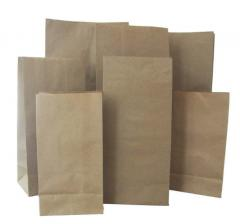The bituminized paper bags