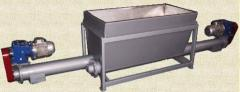 Equipment for the food industry, Bunker batcher of