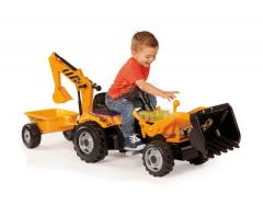 Cycle mobile tractor children's Smoby Traktor Max