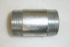 Бочонок стальной оцинкованный Ф80
