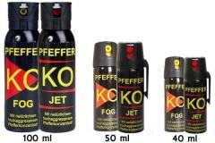 Самооборона немецкие газовые баллончики Pffeffer