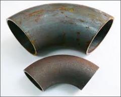 Отвод стальной кованый Ду80