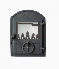 Big doors for Wamsler furnaces