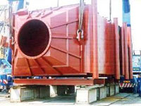 Boilers utilizers on thermal oil like HTHR