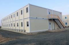 He fast-built modular buildings