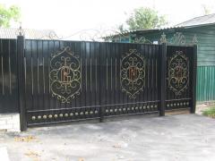 Ворота кованные. Ворота въездные, гаражные ворота