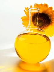 Sunflower oil of hot break